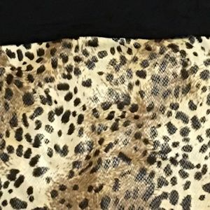 Other - 2 piece leopard outfit